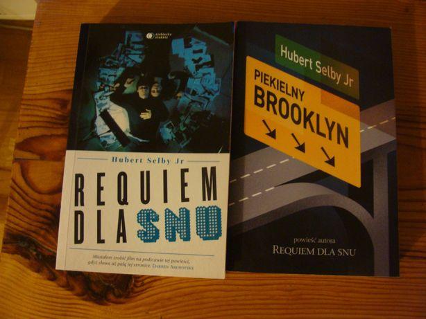 "Hubert Selby ""Requiem Dla Snu"" i ""Piekielny Brooklyn"" Stan BDB"