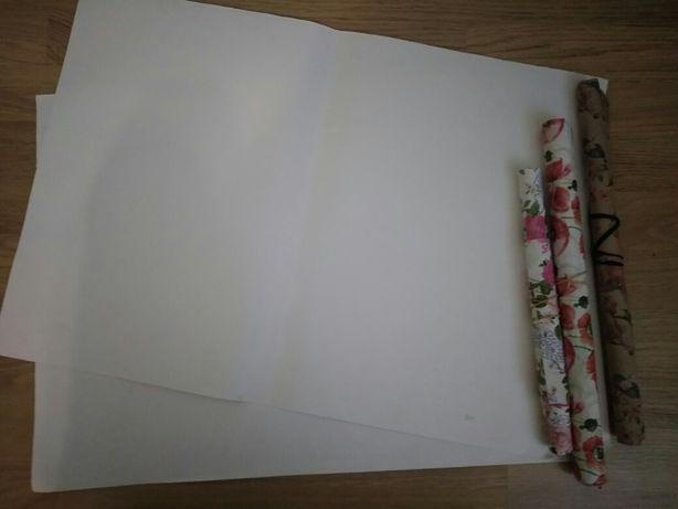 Акварельная бумага и бумага для упаковки