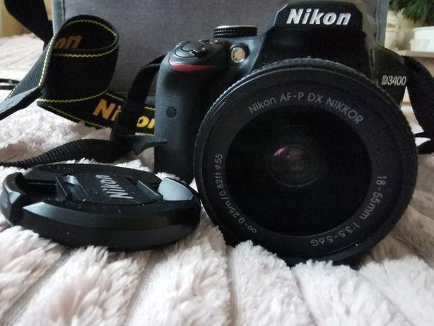 Lustrzanka Nikon D3400 + AF-P DX NIKKOR 18-55mm f/3.5-5.6G