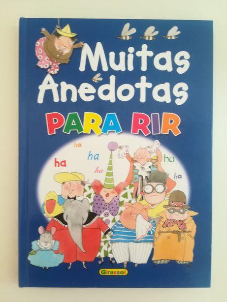 Livro 'Muitas Anedotas para Rir', Girassol