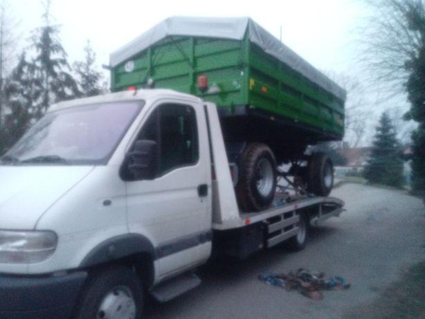 Autopomoc Pomoc drogowa Holowanie Sieradz Przyczepa Rolnicza Transport