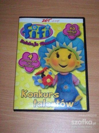 płyty dvd dla dzieci bajki kubus, stacyjkowo,franklin pszczółka maja f