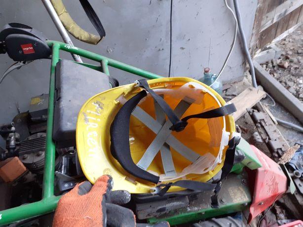 Kask ochronny budowlany żółty 10 sztuk