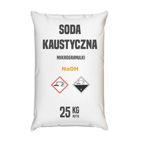 Soda kaustyczna mikrogranulki 100 kg (4x25 kg)