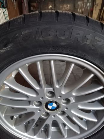 Koła kompletne 215x60x17 BMW 4x4
