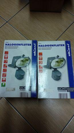 lampa halogenowa z czujnikiem ruchu