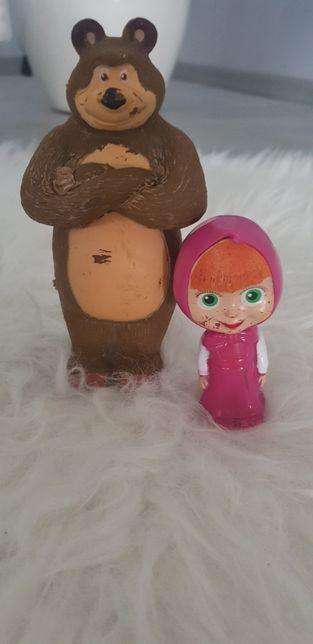 Figurki Masza i Niedźwiedź