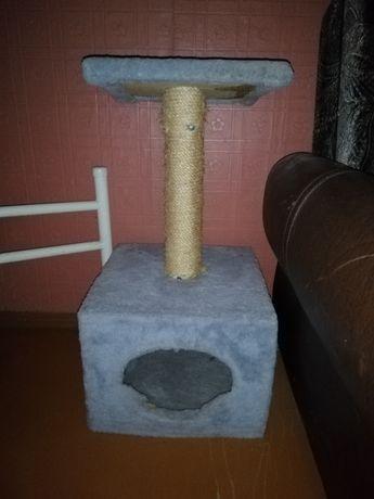 Домик для Кота Кошки Когтеточка Когтедряпка