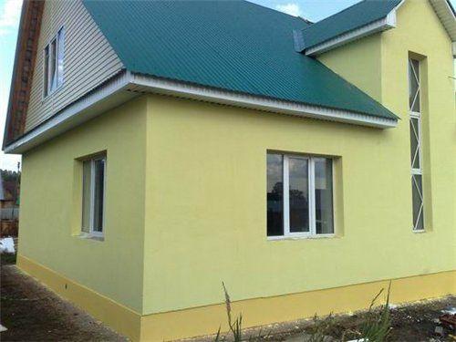 Утеплення будинку, покрівля даху
