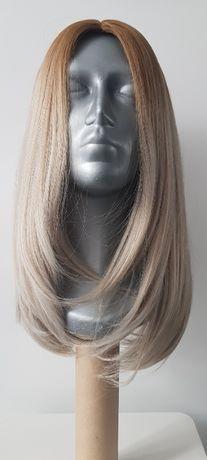 PERUKA szary blond jak NATURALNA