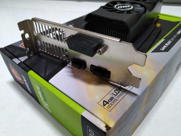 Placa Gráfica MSI GeForce GTX 1050Ti 4GT LP 4GB GDDR5   Garantia 2023