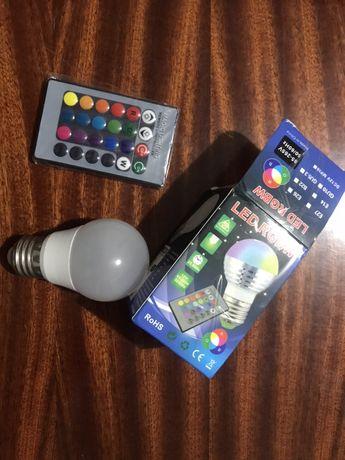 Светодиодная лампа на управлении