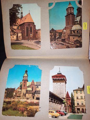 Widokówki Krakowa 12szt. Każda inna
