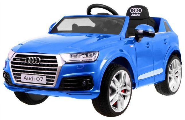 Auto na akumulator Audi Q7 New Model Lakierowany Niebieski