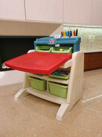 STEP2 biurko ze sztalugą i krzesełkiem