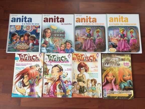 Livros (8) Anita, Witch e Wink como novos
