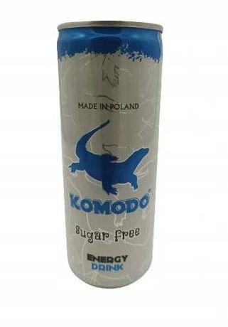 Napój Komodo Energy Drink sugar free 250 ml x24