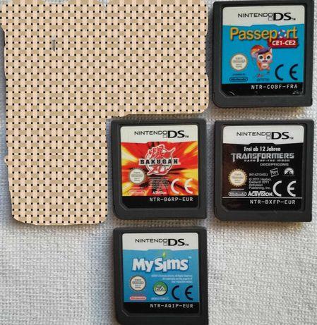 Transformers e outros Jogos Nintendo DS