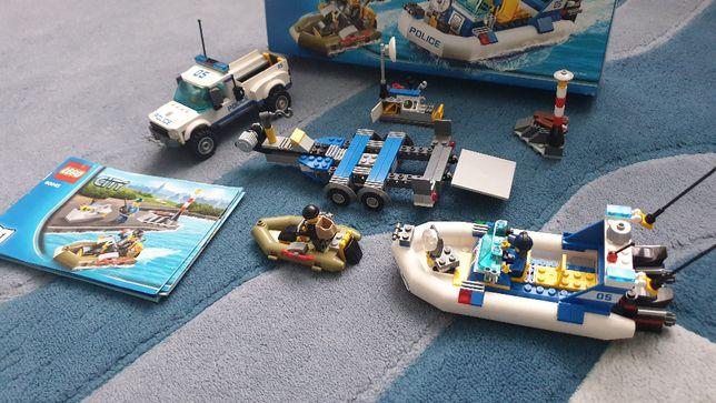 Конструктор LEGO City Полицейский патруль 60045 оригинал