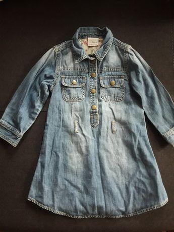 Платье  джинсовое Next 2- 3 года