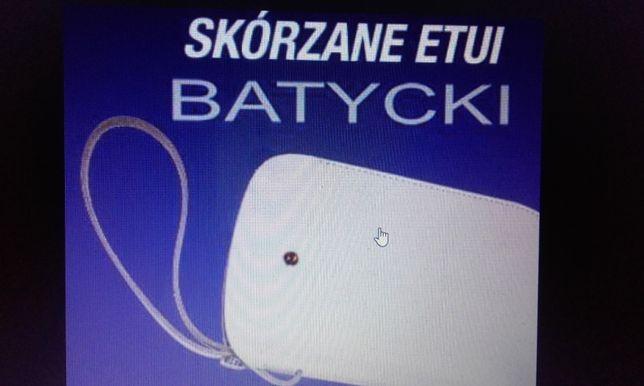 Skórzane etui na telefon Batycki