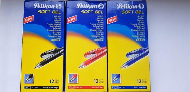 Długopis żelowy soft gel PELIKAN niebieski