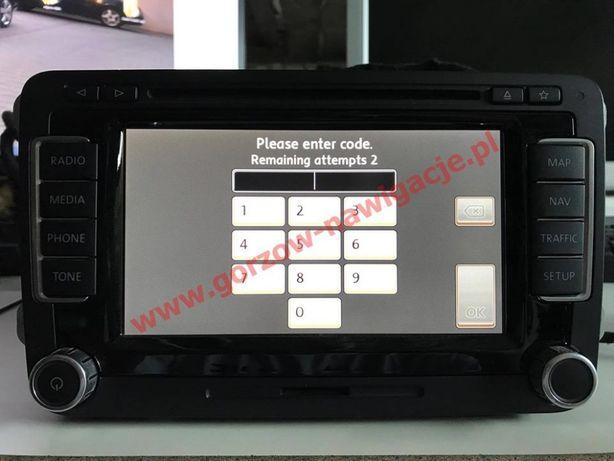 Radio Code - Odczyt oryginalnego kodu PIN do Radio - Nawigacji