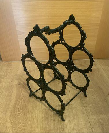 Garrafeira decorativa em ferro