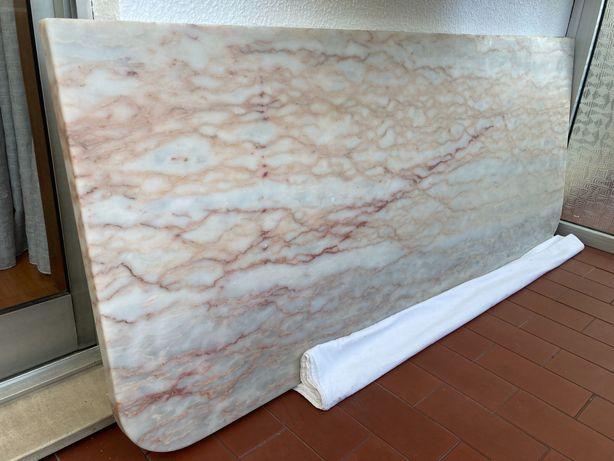 Pedra Marmore Bancada 140x58x3cm