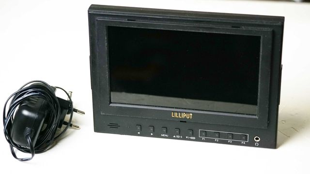 Monitor podglądowy LILLIPUT 7 cali