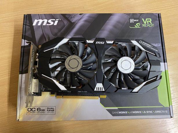 Karta graficzna MSI GeForce GTX 1060 6GT OCV1 6GB GDDR5 (192 Bit) DVI,