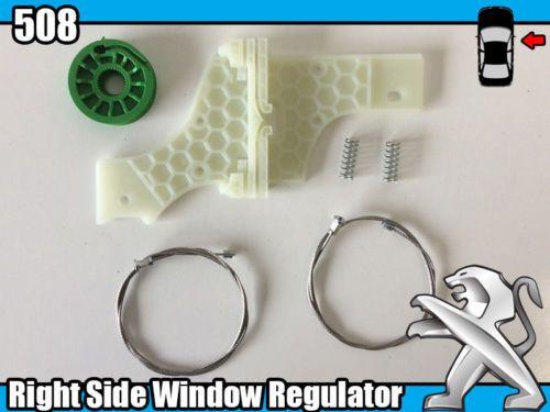 Peugeot Kits de reparação Elevadores de vidros 206/307/406/407/607/508
