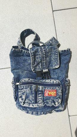 Plecak jeans jak nowy