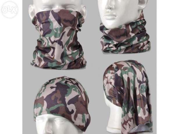 Lenço máscara militar camuflado camuflagem paintball balaclava tropa