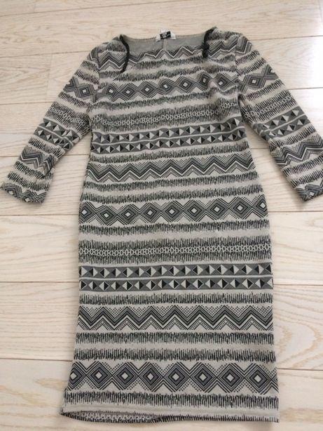 Sukienka bawełniana w modne wzory