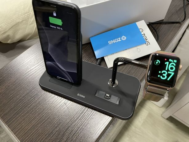 Продам беспрводное ЗУ для телефона и часов