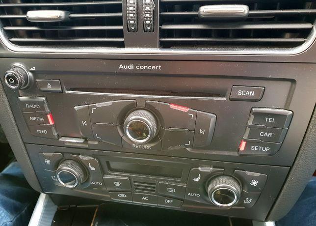 Audi Concert Symphony Polskie Menu A4 A5 Q5 Modele od 2007 Przedlift