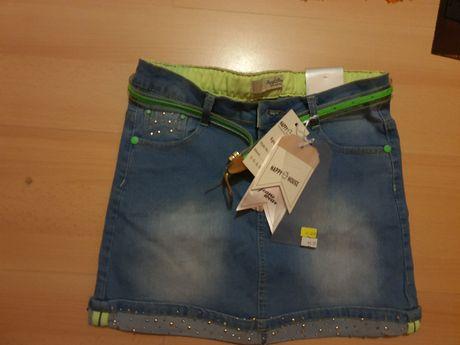 Spódnica jeansowa r. 140