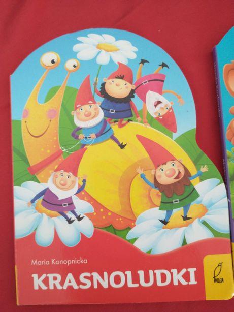 Książeczka Wykrojnik Krasnoludki Maria Konopnicka