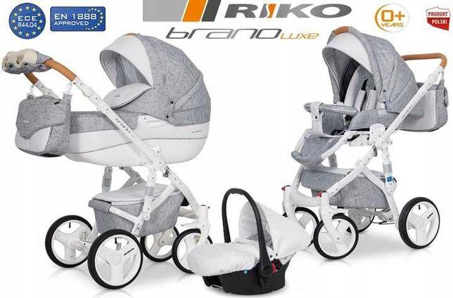 Wózek 3w1 Brano Riko