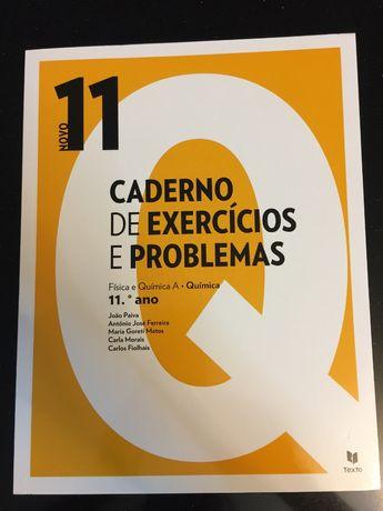 Caderno de atividades Fís. e Quím. A - Química 11.º ano (Novo 11) NOVO
