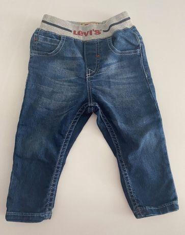 Spodnie jeansowe Levis jak nowe 9 mcy 74