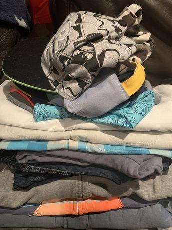 Paka dla chlopaka ubrania r. 128-138 Benetton Okaidi, Zara,