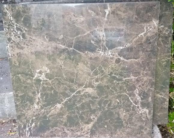 KEOPE włoski gres szkliwiony marmur brąz