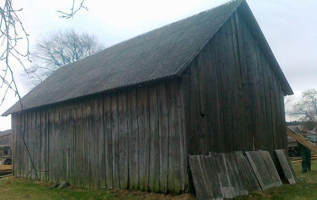 Skup stodół, stare deski, rozbiórka, wymiana blacha