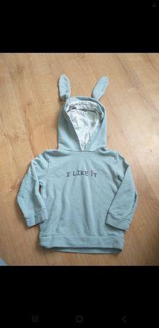 Bluza z uszkami królika  dla chłopca
