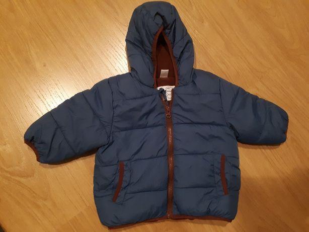 Ciepła kurtka zimowa TEX rozmiar 12 miesięcy 86
