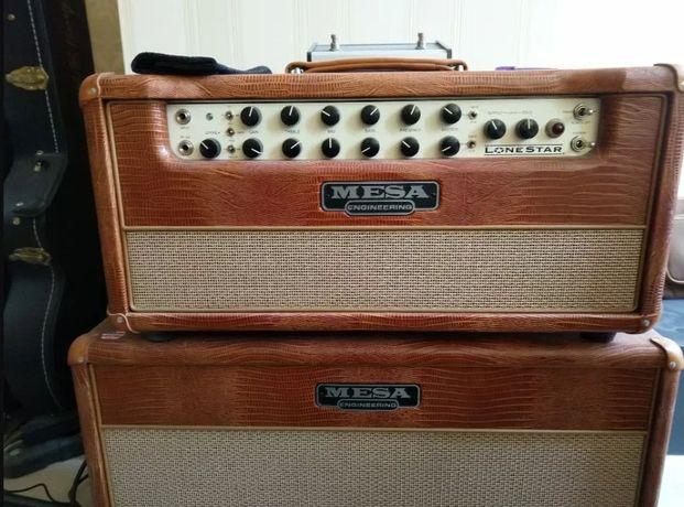 Ламповый гитарный усилитель и кабинет Mesa Boogie Lone Star Special