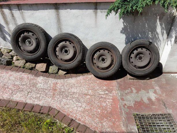 Opony zimowe 185/65/R15 z felgami Renault Scenic