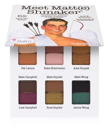 Палетка теней TheBalm Palettes Meet Matt(e) Shmaker, Оригинал